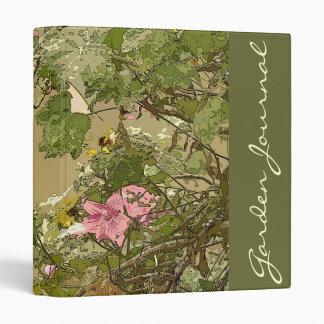 Garden Journal Avery Binder