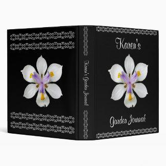 Garden Journal Vinyl Binder