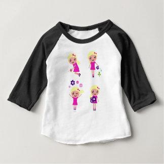 Garden kids pink baby T-Shirt