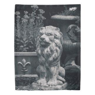 Garden Lion Duvet Cover