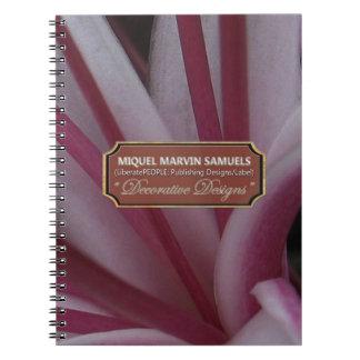 Garden Lovely Decorative Modern Nature Notebook