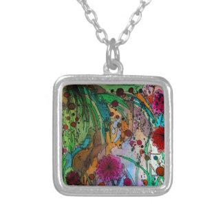Garden Magic Silver Plated Necklace