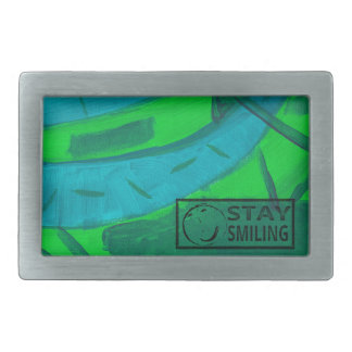 Garden Map Belt Buckle