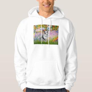 Garden - Merle Welsh Corgi Hoodie