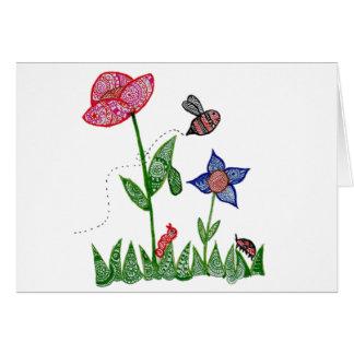 Garden Notecard