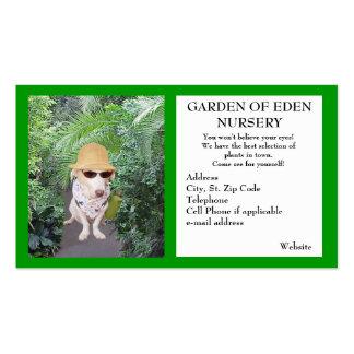 Garden Nursery Business Pack Of Standard Business Cards
