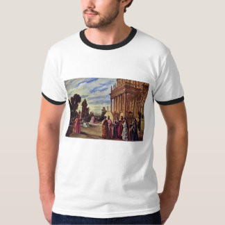 Garden Of Ariosto By Feuerbach Anselm T-Shirt