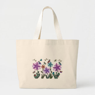 Garden of Beauty Large Tote Bag