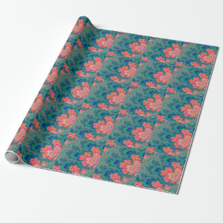 Garden of Beauty & Love Fractal Art Wrapping Paper