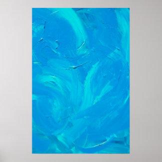 Garden of Blue Poster