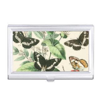 Garden of Butterflies and Flowers Business Card Holder