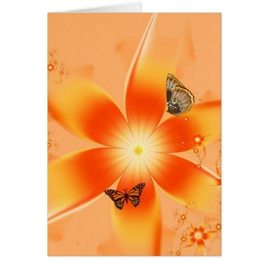 Garden of Butterflies Card