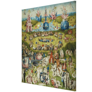Garden of Earthly Delights, 1490-1500 Canvas Print