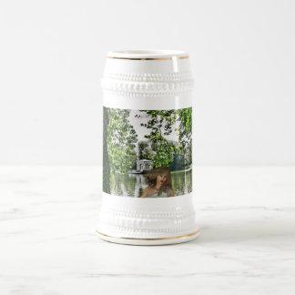 Garden of Eden Beer Stein Coffee Mug