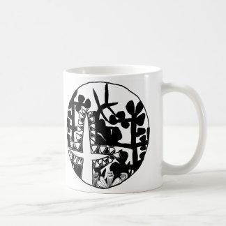 Garden of Eden Basic White Mug