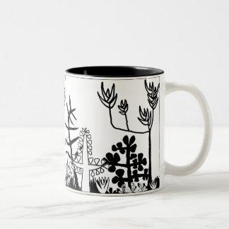 Garden of Eden Two-Tone Coffee Mug