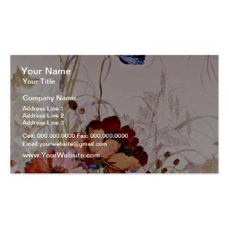 Garden of Eden Yellow flowers Business Card