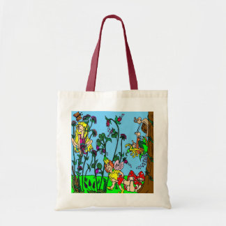 Garden of Faeries Budget Tote Bag