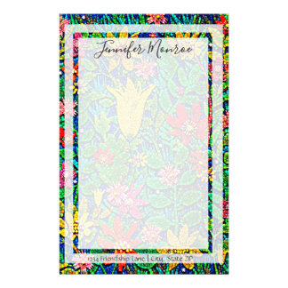Garden of Flowers and Joy Stationery