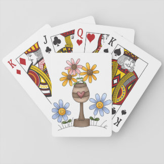 Garden Of Flowers Playing Cards
