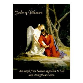 Garden of Gethsemane Carl Bloch Postcard