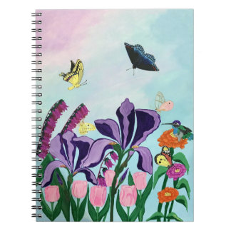 "Garden of Heavenly Delights 6.5"" x 8.75"" Notebook"