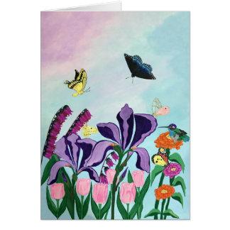 Garden of Heavenly Delights Card