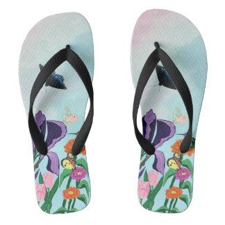 Garden of Heavenly Delights Flip Flops