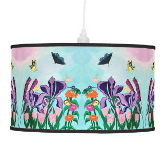 Garden of Heavenly Delights Pendant Lamp