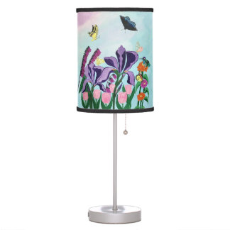 Garden of Heavenly Delights Table Lamp