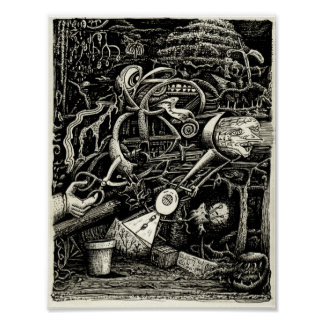 Garden of Madness by Brian Benson Poster