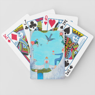 Garden of Paradise Bicycle Playing Cards
