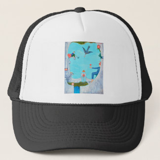 Garden of Paradise Trucker Hat