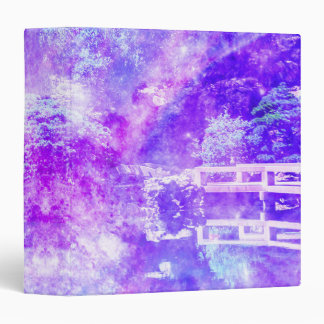 Garden of Serenity Vinyl Binder