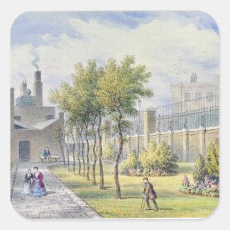 Garden of St. Thomas's Hospital Stickers