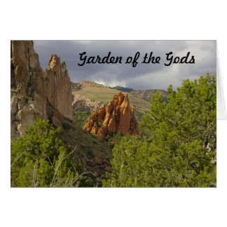 Garden of the Gods Card