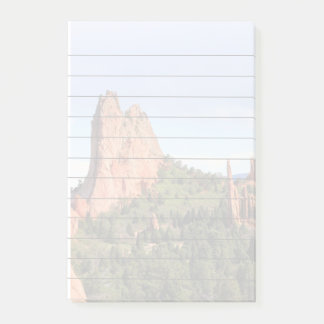 Garden of the Gods Colorado  4x6 post it notes pad