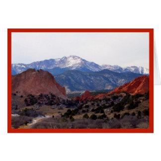 Garden of the Gods (Colorado) Card