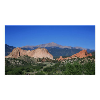 Garden of the Gods ~ Colorado Poster