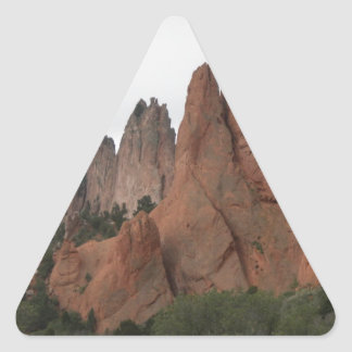 Garden of the Gods, Colorado Triangle Sticker