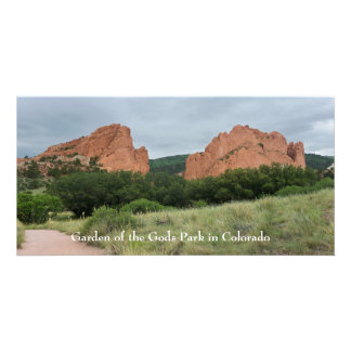 Garden of the Gods Monoliths Along Trail Card