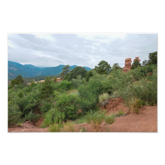 Garden of the Gods Mountains and Hills Photo Print