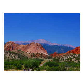 Garden of the Gods Post Card