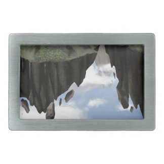 Garden Of The Gods Rectangular Belt Buckle