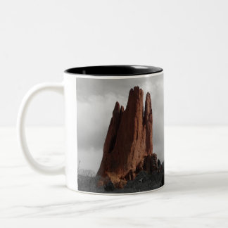Garden of the God's Two-Tone Coffee Mug