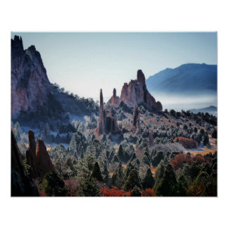 Garden of the Gods XII Poster