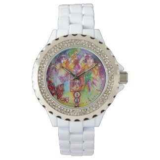 GARDEN OF THE LOST SHADOWS,FAIRIES AND BUTTERFLIES WRIST WATCHES