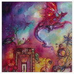 GARDEN OF THE LOST SHADOWS / FLYING RED DRAGON FABRIC