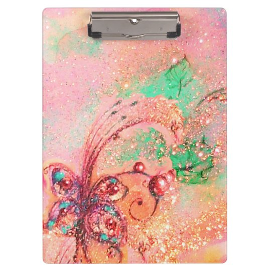 GARDEN OF THE LOST SHADOWS MAGIC BUTTERFLY PLANT CLIPBOARD