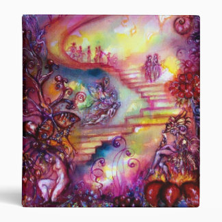 GARDEN OF THE LOST SHADOWS -MYSTIC STAIRS 3 RING BINDERS